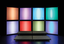 Rubix Wall Light Boxes by Energy Productions