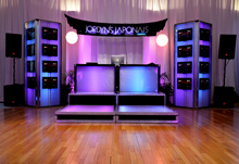 HD Towers, Spectrum Cubes & Custom Risers by Energy